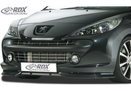 RDX Front Spoiler PEUGEOT 207 / 207CC -2009 & Facelift 2009+ RDFA040