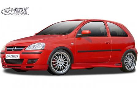 RDX Front Spoiler OPEL Corsa C 2002+ RDFA045