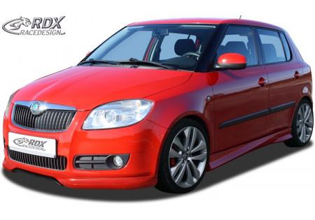 RDX Front Spoiler Skoda Fabia 2 2007-2010 & Roomster RDFA052