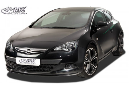 RDX Front Spoiler OPEL Astra J GTC for OPC-Line Front! RDFA101