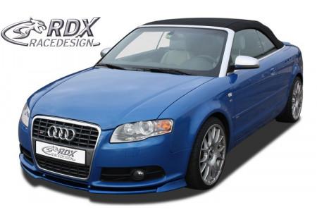 RDX Spoiler anteriore VARIO-X AUDI A4 B7 8H /S4 convertible 05+