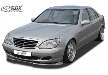 RDX Front Spoiler VARIO-X MERCEDES S-class W220 2002+