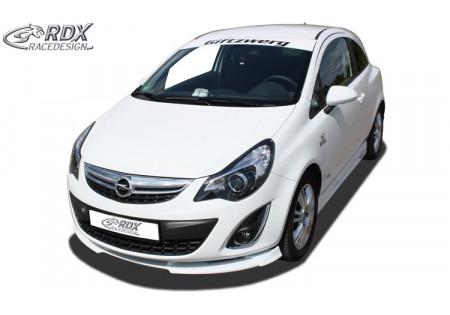 RDX Front Spoiler VARIO-X OPEL Corsa D Facelift 2010+