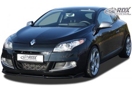 RDX Front Spoiler VARIO-X RENAULT Megane 3 GT/GT-Line 2011+