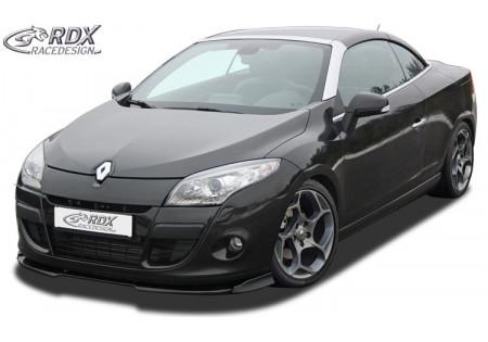 RDX Spoiler anteriore VARIO-X RENAULT Megane 3 Coupe / CC -2012
