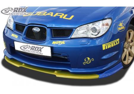 RDX Spoiler anteriore VARIO-X SUBARU Impreza 3 GD WRX 2005-2007