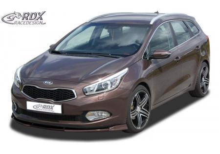 RDX Front Spoiler VARIO-X KIA Ceed Type EU 06/2012+