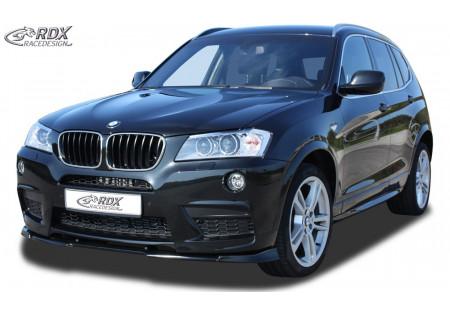 RDX Front Spoiler VARIO-X BMW X3 F25 M-Technic -2014 RDFAVX30679