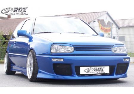 RDX Front bumper VW Golf 3 + Vento GT-Race w/o Sideintakes