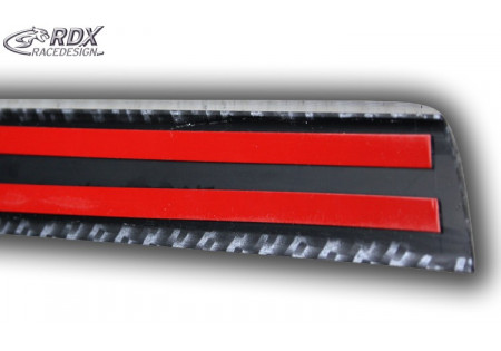 RDX Trunk lid spoiler Universal CARBON Look 50 / 126,6cm