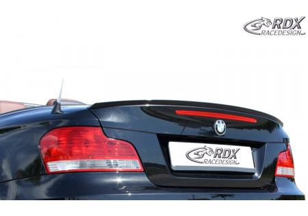 RDX Trunk lid spoiler BMW 1-series E82 Coupe E88 Convertible