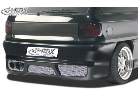 RDX Rear bumper OPEL Astra F with numberplate GT-Race RDHS031