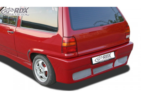 RDX Rear bumper VW Polo 3 86c2f Hatchback with numberplate RDHS053