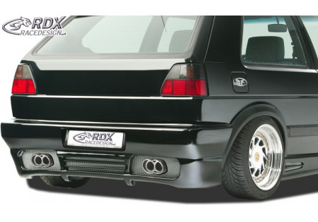 RDX Rear bumper VW Golf 2 with numberplate GT4 RDHS057