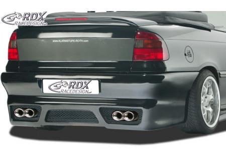 RDX Rear bumper OPEL Astra F Convertible/Sedan +numberplate RDHS058K