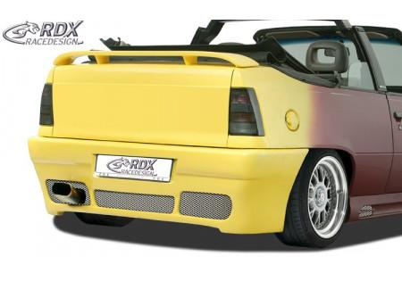 RDX Rear bumper OPEL Kadett E with numberplate GT4