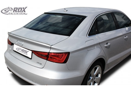 RDX Trunk lid spoiler Audi A3 Sedan 8VS & Convertible 8V7 RDHL122
