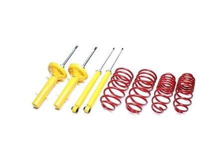 assetto sportivo VW Golf I incl. Cabrio / Jetta I / Scirocco I / II 17 / 155Z53 / 53B 40/40mm