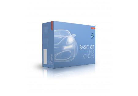 Kit di conversione Bi-xenon Basic AC H/L H4-3 5000K