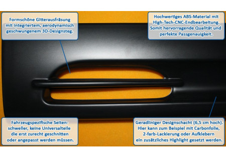 RDX Minigonne OPEL Vectra A GT-Race