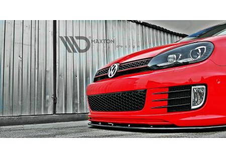 SPLITTER ANTERIORE VER.2 VW GOLF VI (FOR GOLF GTI 35TH) AC-VW-GO-6-GTI-35TH-FD2