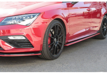DIFFUSORI MINIGONNE v.3 Seat Leon Mk3 Cupra/ FR Facelift