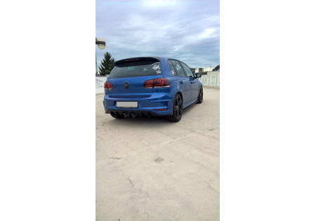 PARAURTI POSTERIORE VW GOLF VI (R400 LOOK) AC-VW-GO-6-GTI-R400-R1