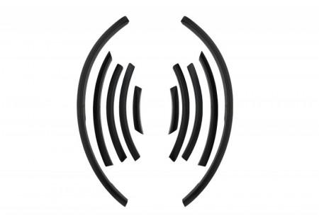 Razzi parafango di estensione per passaruota adatti per AUDI Q7 4L (2006-2014) Design S-Line FFA04