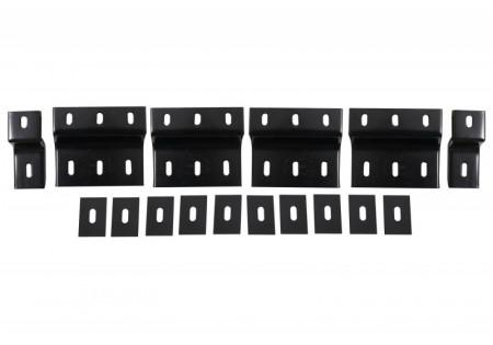 Staffe Pedane Pedane laterali adatte per HYUNDAI Santa Fe MkIII (DM) (dal 2013 in poi)