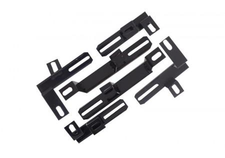 Staffe Pedane Pedane laterali adatte per TOYOTA RAV4 (XA40) (dal 2013 in poi) Design OEM BRBTORAV4F