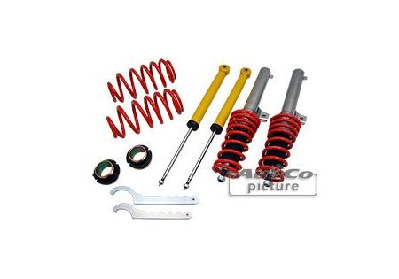 Assetto regolabile a ghiera Seat Toledo (5P) / Altea / Leon (1P)