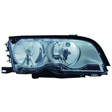 H7 / H7 FARO ANTERIORE TITANIUM DESTRO TYC PER BMW 3ER Coupe Cabrio E46 99-01