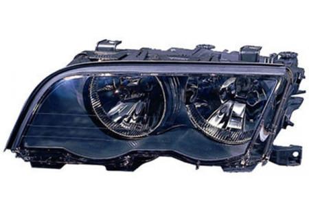 H7 / H7 FARO ANTERIORE NERO SINISTRO TYC PER BMW 3ER Coupe Cabrio E46 99-01