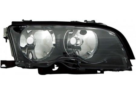 H7 / H7 FARO ANTERIORE NERO DESTRO TYC PER BMW 3ER Coupe Cabrio E46 01-03