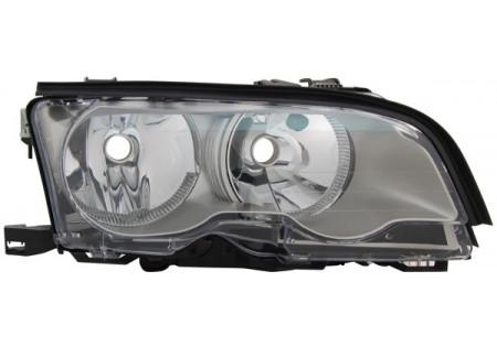 H7 / H7 FARO ANTERIORE TITANIUM DESTRO TYC PER BMW 3ER Coupe Cabrio E46 01-03
