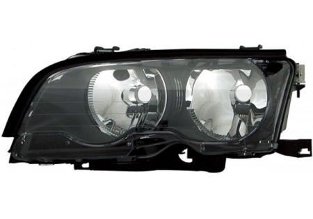 H7 / H7 FARO ANTERIORE NERO SINISTRO TYC PER BMW 3ER Coupe Cabrio E46 01-03