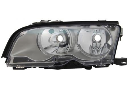 H7 / H7 FARO ANTERIORE TITANIUM SINISTRO TYC PER BMW 3ER Coupe Cabrio E46 01-03