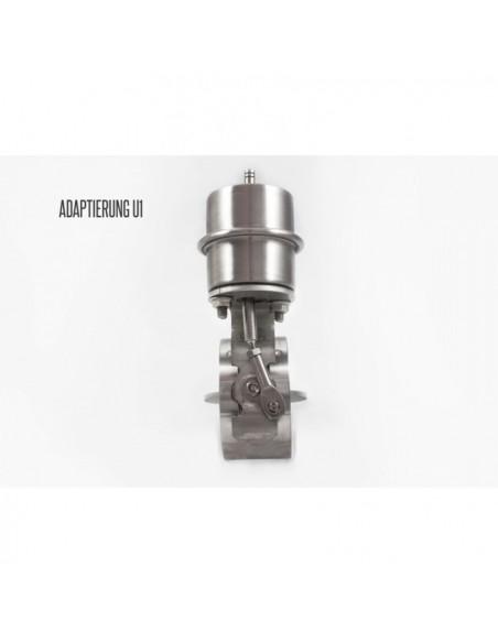 SCARICO FLAP AR2 CERAMICA SOTTO PRESSIONE 63 mm. per saldatura - opere con vuoto - normalmente aperto ASR-UK-63o