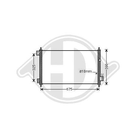 Condensatore Climatizzatore Accord Lim./Tourer 05-08 DCC1213