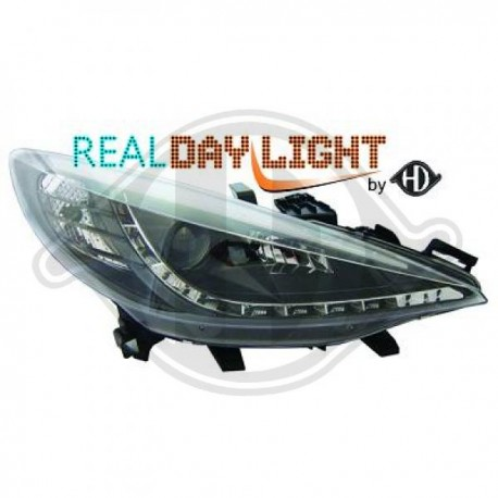 Kit faro principale Real DRL Headlights Echtes Tagfahrlicht