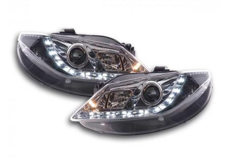 coppia fari luci di marcia diurna Daylight Seat Ibiza tipo 6J anno di costr. 08- cromato