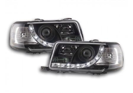 coppia fari Daylight Audi 80 tipo B4 anno di costr. 91-94 nero