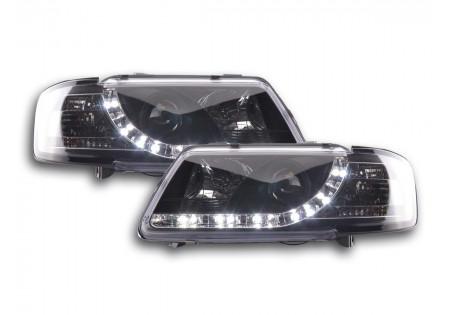 coppia fari Daylight Audi A3 tipo 8L anno di costr. 96-00 nero