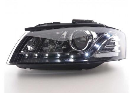 coppia fari Daylight Audi A3 tipo 8P anno di costr. 03-07 nero AC-CBFSAI010039