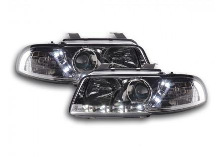 coppia fari Daylight Audi A4 tipo B5 anno di costr. 95-99 cromato AC-CBFSAI9009