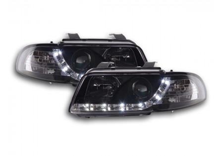 coppia fari Daylight Audi A4 tipo B5 anno di costr. 95-99 nero