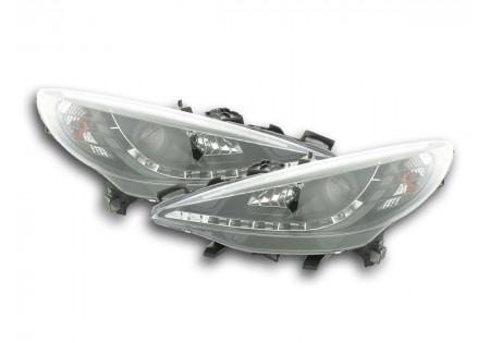 coppia fari Daylight Peugeot 207 anno di costr. 06- nero