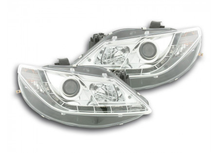 coppia fari Daylight Seat Ibiza tipo 6J anno di costr. 08- cromato