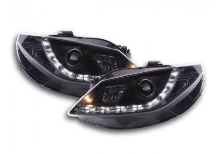 coppia fari luci di marcia diurna Daylight Seat Ibiza tipo 6J anno di costr. 08- nero