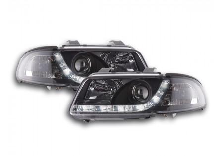 coppia fari luci di marcia diurna Daylight Audi A4 B5 8D anno di costr. 99-01 cromato